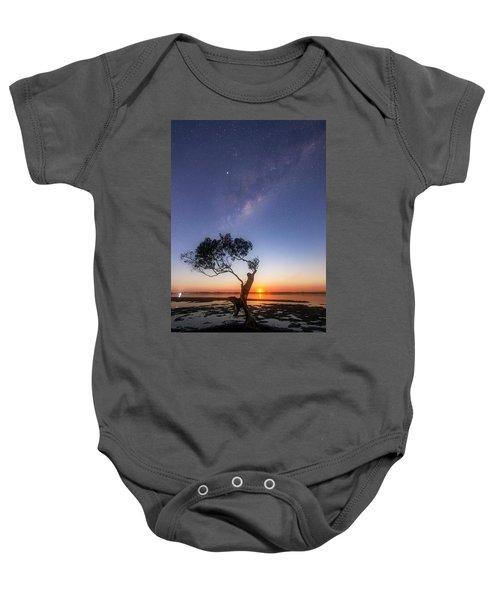 Cosmic Tree Baby Onesie