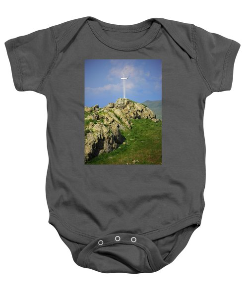 Countryside Cross Baby Onesie