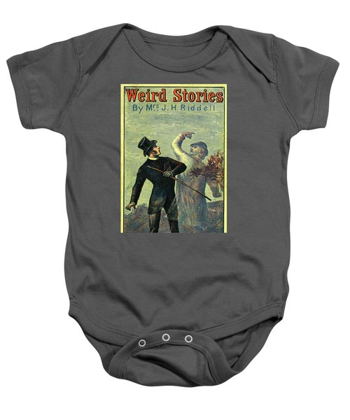 Victorian Yellowback Cover For Weird Stories Baby Onesie
