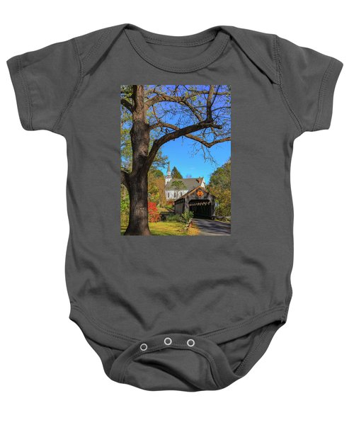 Covered Bridge Baby Onesie