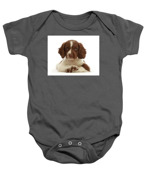 Cross Paws Baby Onesie