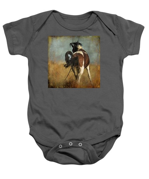 Baby Onesie featuring the photograph Dance by Mary Hone