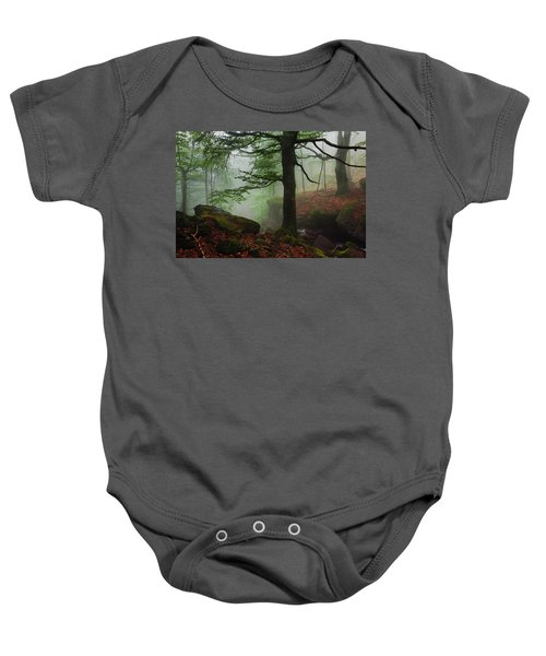 Dark Forest Baby Onesie
