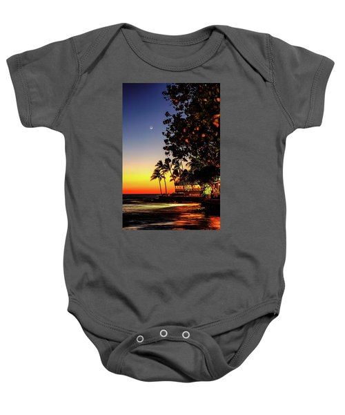 Baby Onesie featuring the photograph Dark Night Colors by John Bauer