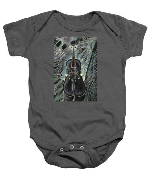 Deep Cello Baby Onesie