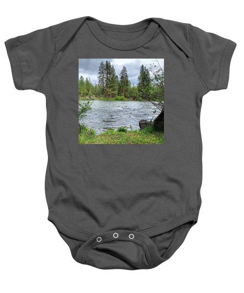 Deschutes River Baby Onesie