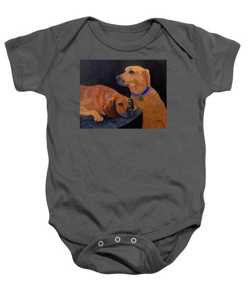 Dog Love Baby Onesie
