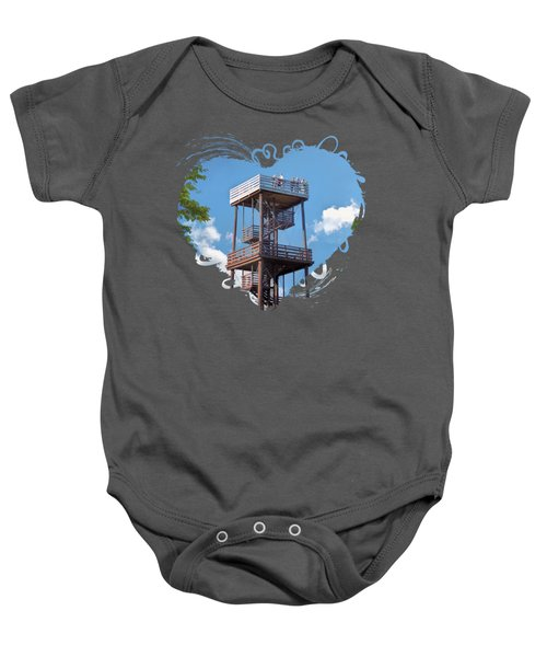 Door County Eagle Tower Peninsula State Park Baby Onesie