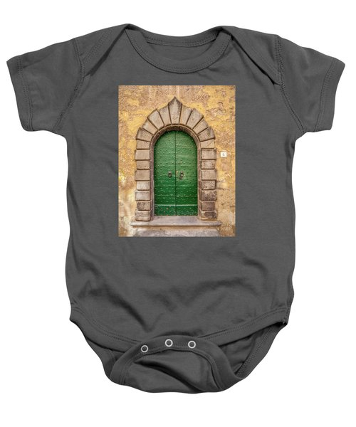Door Six Of Cortona Baby Onesie