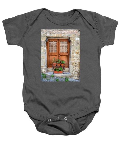 Door Thirteen Of Tuscany Baby Onesie