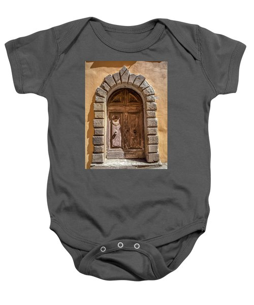 Door Thirty Two Of Tuscany Baby Onesie