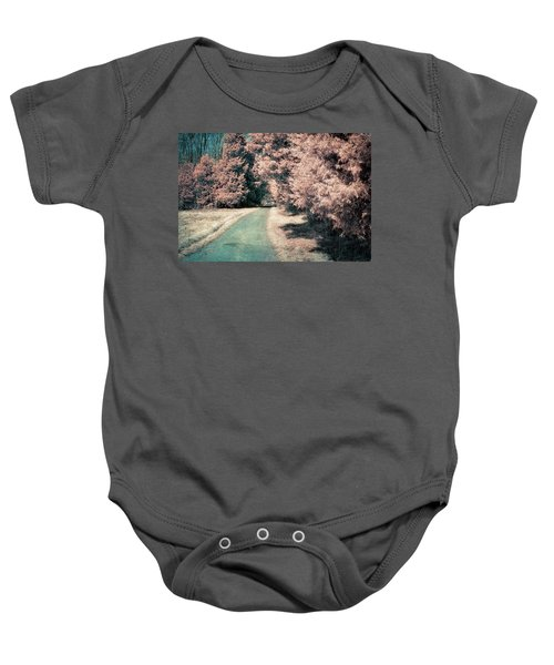 Down The Road Baby Onesie
