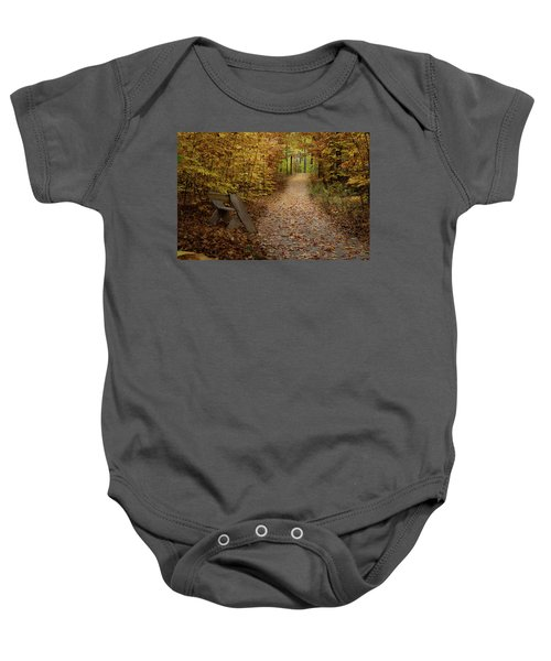 Down The Trail Baby Onesie