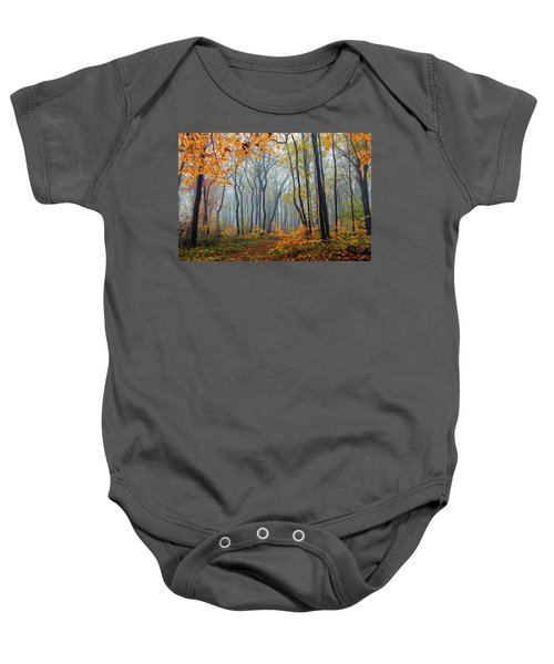 Dream Forest Baby Onesie