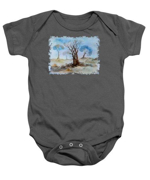 Dry Tree Baby Onesie