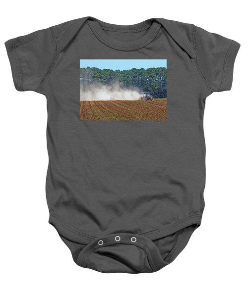 Dust Farming Baby Onesie