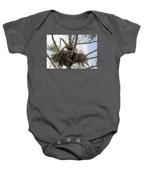 Eagle Nest Baby Onesie