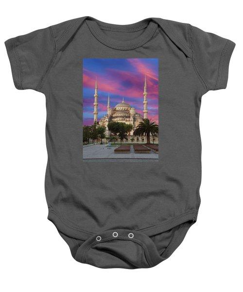 Early Morning Light On  Sultan Ahmet Camii Baby Onesie