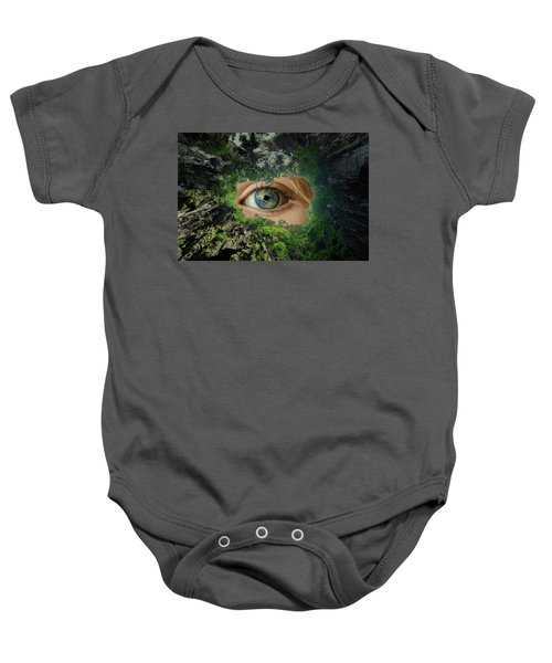 Earth Is Watching You Baby Onesie