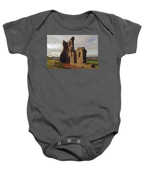 Edinburgh. St. Anthony's Chapel, Holyrood Park Baby Onesie