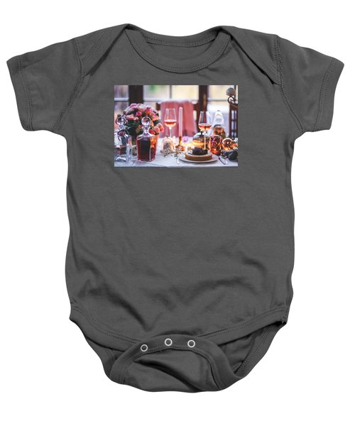 Elegant Tablewear Baby Onesie