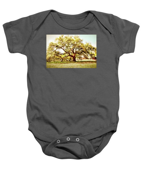 Emancipation Oak Baby Onesie