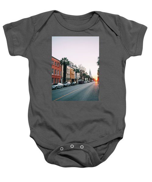 End Of The Road Baby Onesie