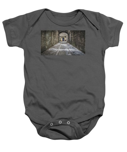 End Of The Tracks Baby Onesie
