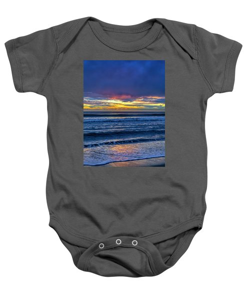 Entering The Blue Hour Baby Onesie