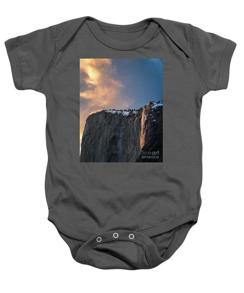 Baby Onesie featuring the photograph Epic Sunset by Vincent Bonafede