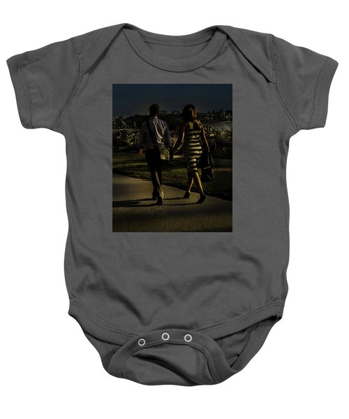 Evening Walk Baby Onesie