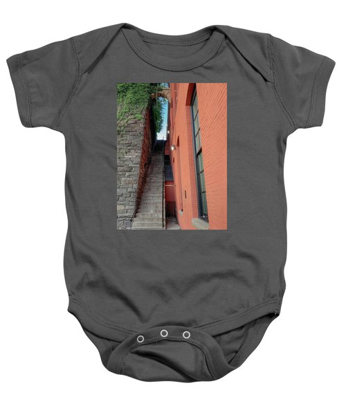 Exorcist Stairs Beauty Baby Onesie