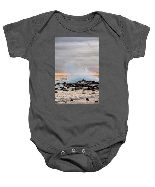 Explosive Sea 5 Baby Onesie