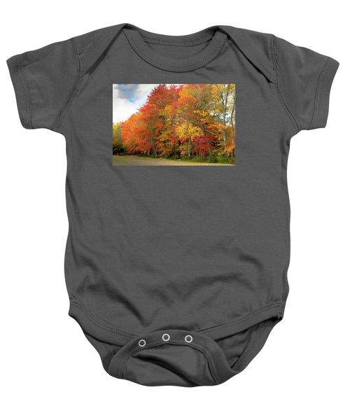 Fall Colors Baby Onesie