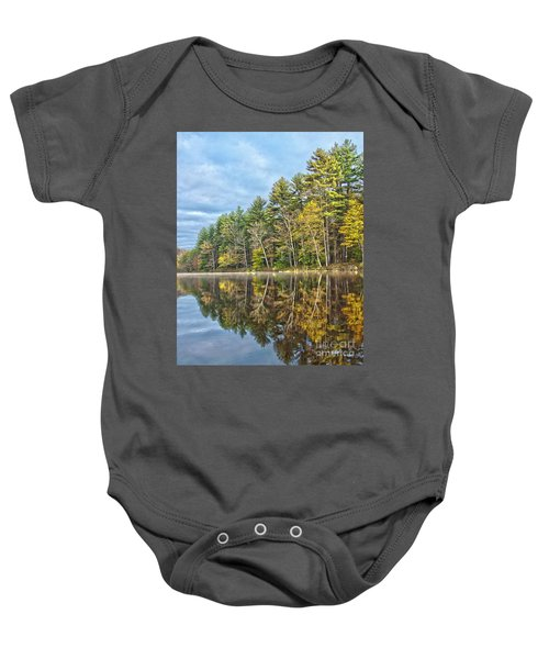 Fall Reflection Baby Onesie