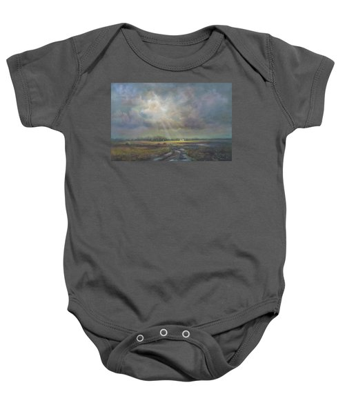 Farm In Spring Baby Onesie