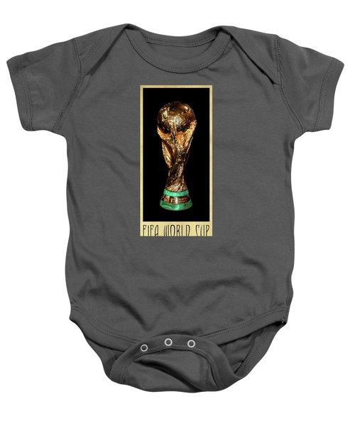 Fifa World Cup Trophy Baby Onesie