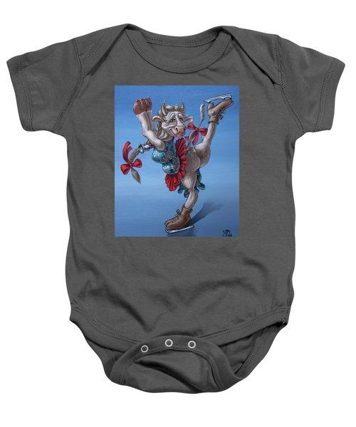 Figure Skater Baby Onesie