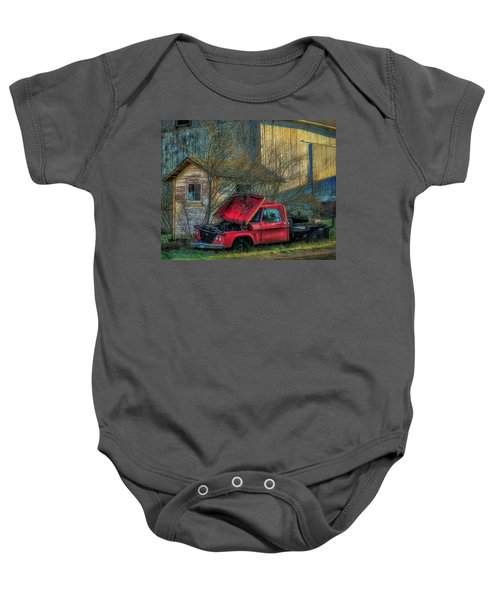Final Resting Place Baby Onesie