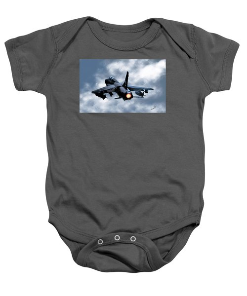 First In Last Out Baby Onesie