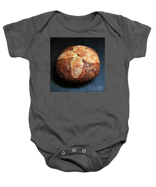 Flax Seed Sourdough 2 Baby Onesie