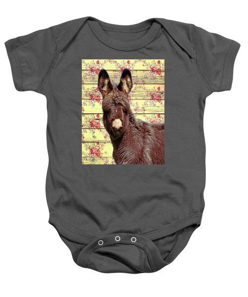Baby Onesie featuring the photograph Flower by Mary Hone