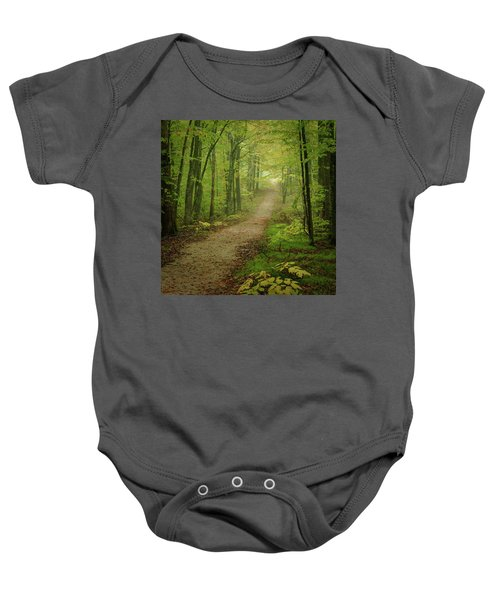 Foggy Path Baby Onesie