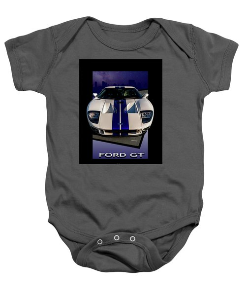 Ford Gt - City Escape Baby Onesie
