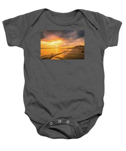 Fort Foster Sunset Watchers Club Baby Onesie