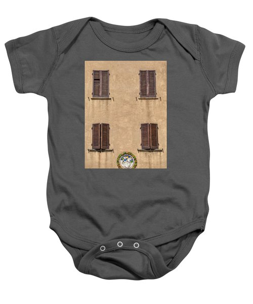 Four Windows Of Florence Baby Onesie
