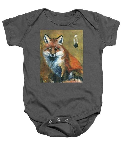 Fox Shows The Way Baby Onesie
