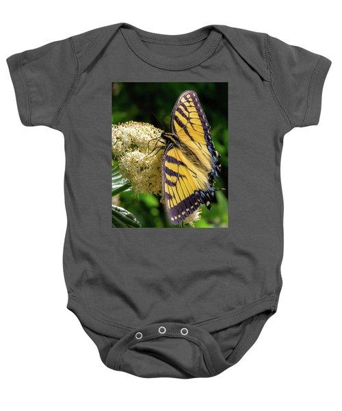 Fuzzy Butterfly Baby Onesie