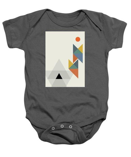 Geometric Painting 14 Baby Onesie