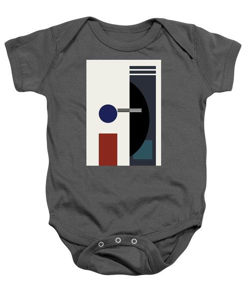 Geometric Painting 9  Baby Onesie